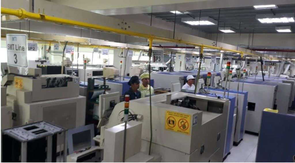 Automatic SMT assembly lines
